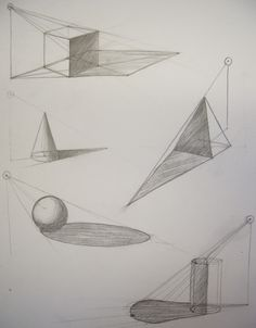 Architecture Drawing Basics 1 2 3 4 point perspectiverovanna | art reference | pinterest