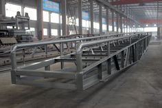 The Frame of the Portable Belt Conveyor