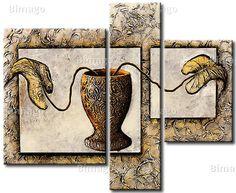 Die Vase. Dekoratives Wandbild der Galerie bimago.de (bimago.com)