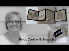 Stamp & Scrap with Frenchie: Pivot and twisted card  Fancy Fold Blog Hop