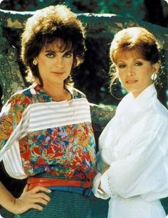 "Linda Gray and Victoria Principal, ""Dallas"" Victoria Principal, Classic Series, Classic Tv, Dallas Tv Show, Real Tv, Linda Gray, Texas, Photo Images, Comedy Tv"