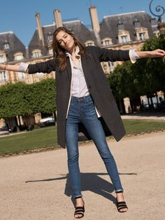 madewell monsieur coat worn with the bristol button-down shirt bd8be7c0e