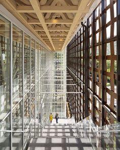 O Aspen Art Museum, de Shigeru Ban.