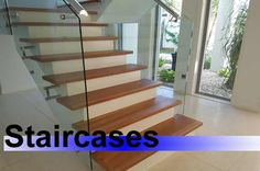 Sanding and polishing stairs in the capital city of Queensland is alive and well. This set of stairs is more the American style - painted uprights and polished stair treads. This is becoming more popular in new homes. http://www.economyfloorsanding.com.au/floor-sanding-and-polishing/timber-stairs/