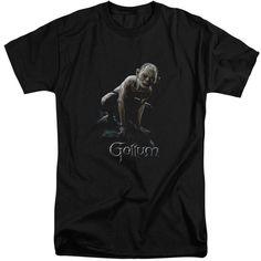 Lotr/Gollum Short Sleeve Adult T-Shirt Tall in