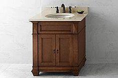 "30"" Ronbow Torino Bathroom Vanity (062830-F11) #vanities #HomeRemodel #BathroomRemodel #BlondyBathHome #Freestanding"