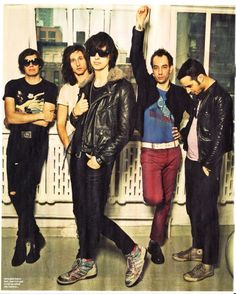 The Strokes. fav band in the entire world. <3