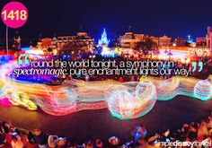 Spectromagic was BY FAR the BEST electrical parade in Disney World!!!!!!!!! The Mainstreet Electrical Parade stinks =(