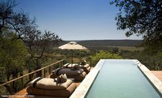 Phinda Getty House pool, South Africa