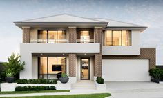 Webb & Brown-Neaves is an award winning Luxury Home Builder in Perth & WA. View our Custom Two Storey Homes Designs, find Display Homes & more. Two Story House Plans, First Home Buyer, Two Storey House, Double Storey House Plans, Storey Homes, Display Homes, Facade House, House Front, Modern House Design
