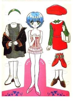 Japanese Girl paper doll - mary marie - Picasa Web Albums