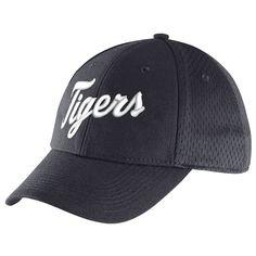Detroit Tigers Nike Dri-FIT Mesh Back Swoosh Flex Hat - Navy - $24.99
