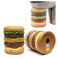 Deze mega hamburger is de nieuwe eye-catcher voor in de kinderkamer! MegaGadgets.nl