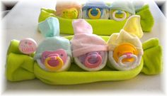 Peas in a pod baby gift idea