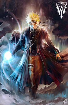Naruto Sennin Mōdo - Rasengan