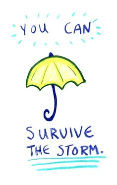 You can survive the storm
