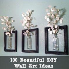 beautiful diy wall art