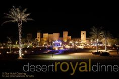 make your way this #weekend to the magical fortress and dining #venue & #royal #dinner @ #sahara the finest #desert venue in #dubai  where #live cooking & #entertainment #show : #HairDance live #music #BellyDance #fire acrobat show yet #enjoy the international #buffet which is catered by #5star #hotel. you can drive to doorsteps by your own car. tour-dubai.com