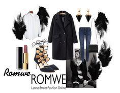 """Romwe"" by zahirovic ❤ liked on Polyvore featuring Vita Fede, Chanel and Giuseppe Zanotti"