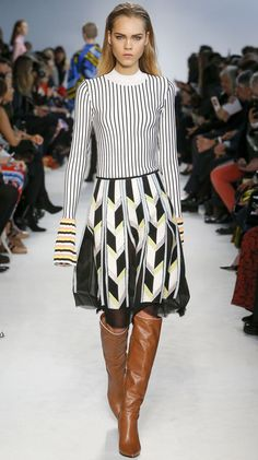 """FW16 Runway Trends: """"Extra Long Sleeves"""" featuring Emilio Pucci 