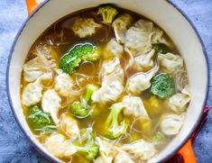 Quick & Easy Wonton Soup » Kay's Clean Eats » %