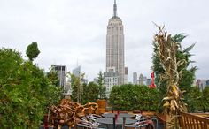230 Fifth  Rooftop bar with a fab view of empire state building. Open year round