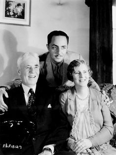 William Powell with his parents