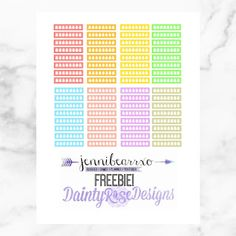 Freebie Assorted Hydrate Stickers for The Happy Planner and The Erin Condren Life Planner  via Jennibearrxo.com
