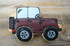 Jeep Side Profile Cookie