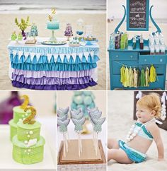 Love this mermaid party