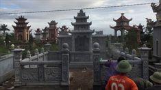 lăng mộ đá, thi công lắp đặt khu lăng mộ đá tại tỉnh thái bình.