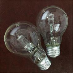 cheap A55 110v-130v 220v-240v e27 b22 28w halogen lamp CE