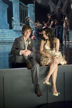 Gabriella Montez and Troy Bolton- High School Musical 3: Senior Year