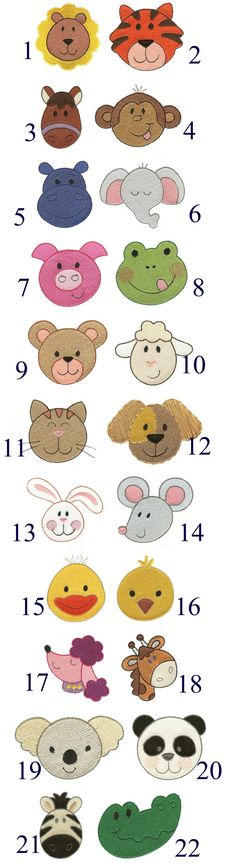 cute designs for appliques