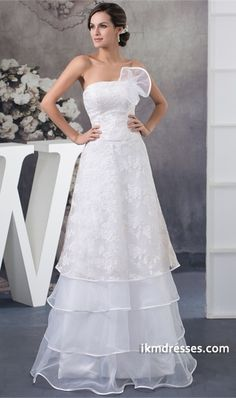 http://www.ikmdresses.com/Ruched-Sleeveless-A-Line-Spring-Fall-Strapless-Wedding-Dress-p20322