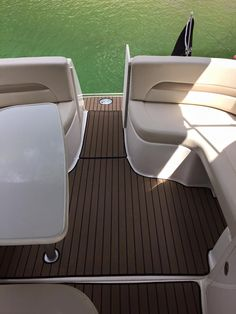 Snap In Carpet installed on customer's boat