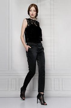 black lace blouse furelle