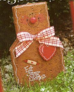 Gingerbread Man Paver