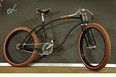 Bike : tan rubber