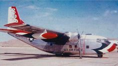 U.S. Air Force Thunderbirds C-123D