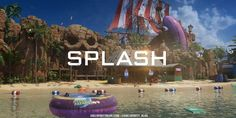 Set in an abandoned water theme park, Splash delivers a new aquatic environment to explore in Multiplayer. Black Ops 3, Before Running, Splash Pad, Call Of Duty Black, Awakening, Videos, Travel, Username, Geek
