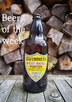 Guinness West Indies Porter is our beer of the week. Strong and very dark, this offering by Guinness dips into the brewer's long history for inspiration.