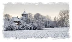 Guesthouse St. Michael in the snow. #Netherlands #Ravenstein #convertedchurch #VisitBrabant #holiday