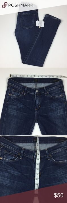 Citizens Of Humanity - Elson - Straight leg Citizens Of Humanity - Elson - Straight leg - Factory distressing - GUC Citizens Of Humanity Jeans Straight Leg