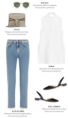 Blue Jeans, White Tee