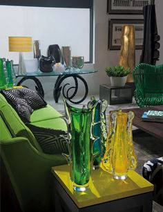 Decorator Kate Hume's by-appointment showroom.