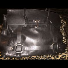 Authentic Juicy Couture Leather Tote