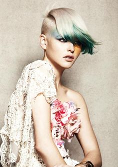MetropolisHair: Tracey Hughes for Mieka Hairdressing  Photo: Amber Toms  Make-up: Sue Marshall  Styling: Kate Carnegie  Products: Redken