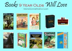 9 is great! For reading that is! These books will make a great gift for an 8 year old, whether a boy or girl.