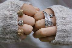 Combinação discreta: anel triplo com anel básico